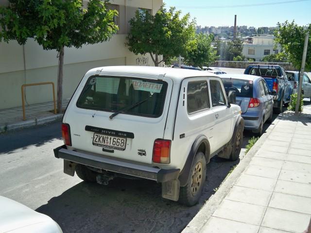 Отечественный автопром как-то доехал до Греции