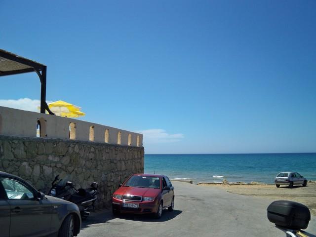 Отель совсем рядом с морем