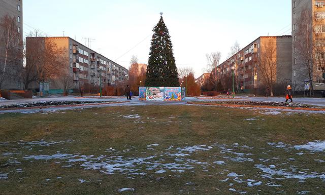 26 декабря 2013 года в Белоозёрском не было снега