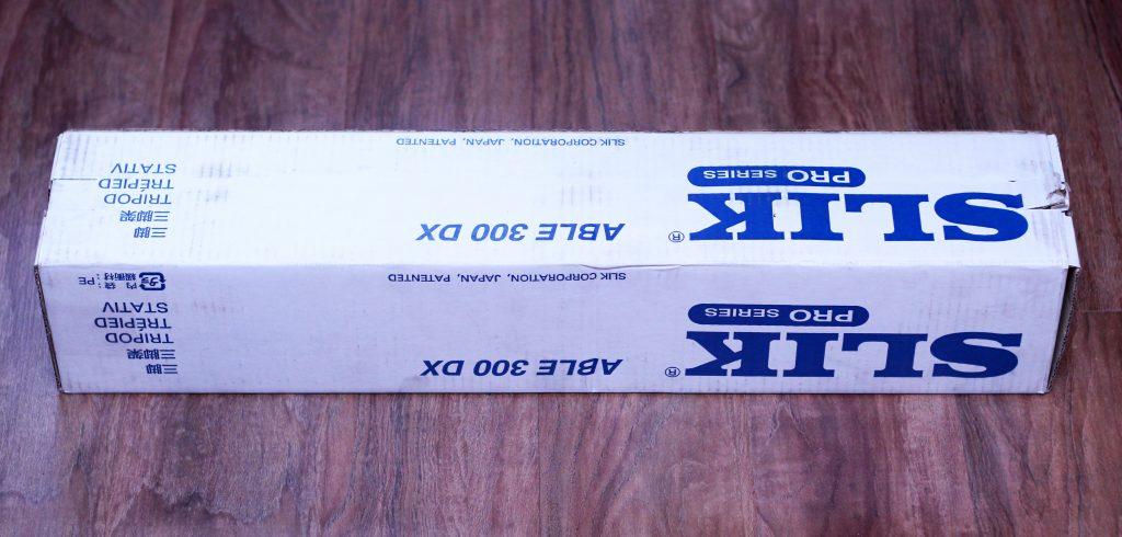 Упаковка штатива-трипода SLIK ABLE 300 DX